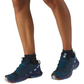 Salomon XA Pro 3D v8 Zapatillas Mujer, poseidon/violet indigo/forever blue